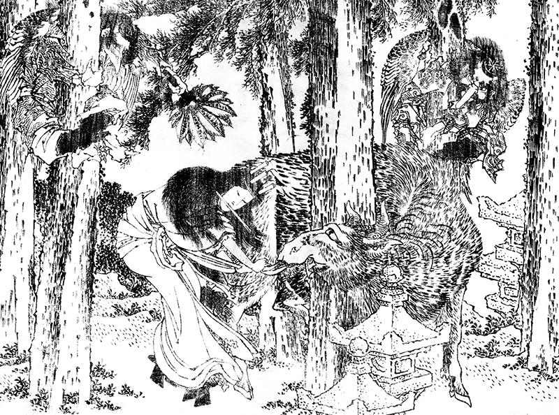 美しい日本の森と藝術とは